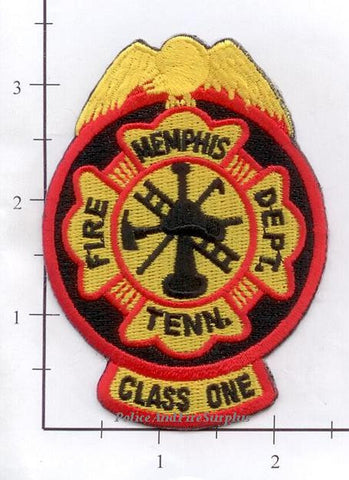 Tennessee - Memphis Class One Firefighter Fire Dept Patch