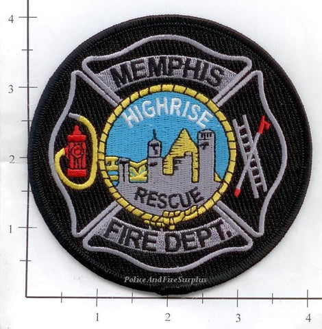 Tennessee - Memphis High Rise Rescue Fire Dept Patch