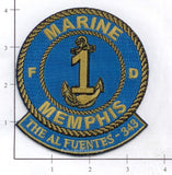 Tennessee - Memphis Marine 1 Fire Dept Patch v1