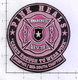 Tennessee - Memphis Mid South Chapter Pink Heals Fire Dept Patch
