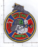 Tennessee - Memphis Rescue 2 Fire Dept Patch v1