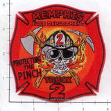 Tennessee - Memphis Truck  2 Fire Dept Patch