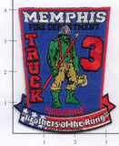 Tennessee - Memphis Truck  3 Fire Dept Patch
