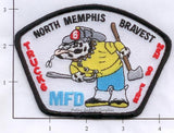 Tennessee - Memphis Truck  6 Fire Dept Patch
