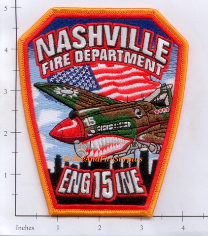 Tennessee - Nashville Engine 15 Fire Dept Patch