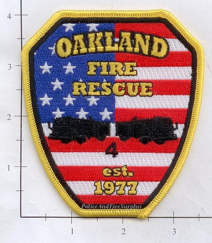 Tennessee - Oakland Fire Rescue Fire Dept Patch