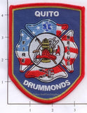 Tennessee - Quito Drummonds Fire Rescue Dept Patch
