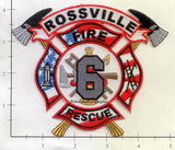 Tennessee - Rossville Fire Rescue 6 Dept Patch