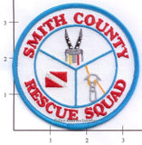 Tennessee - Smith County Rescue Squad Fire Dept Patch