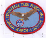 Tennessee - Task Force One USAR Fire Dept Patch