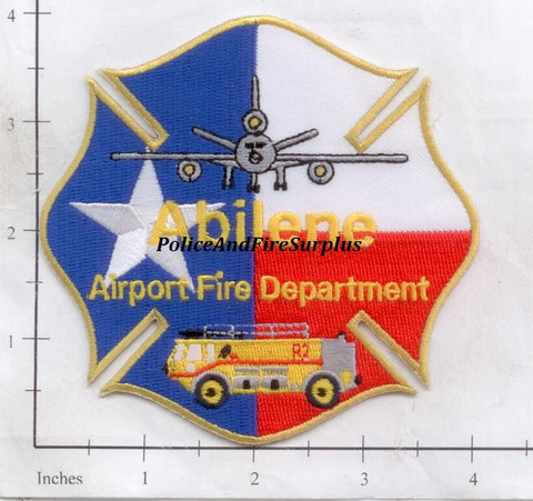 Texas - Abilene Airport Fire Dept Patch