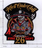 Texas - Dallas Station 26 Fire Dept Patch v1