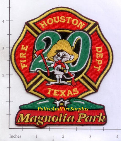 Texas - Houston Station  20 Fire Dept Patch v1