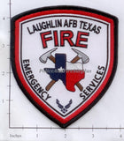 Texas - Laughlin Air Force Base Emergency Services Fire Dept Patch v1
