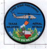 Texas - Lone Star Firehawks Fire Dept Patch v1