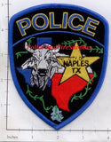 Texas - Naples Police Dept Patch