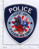 Texas - Tyler Police Dept K-9 Patch