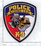 Texas - Aldine Independent School District K-9 Police Dept Patch (001) R
