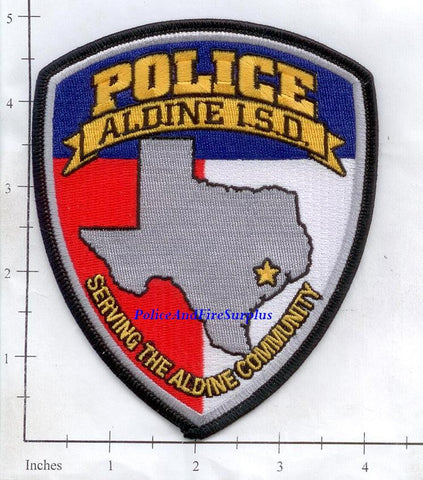 Texas - Aldine Independent School District Police Dept Patch