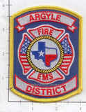 Texas - Argyle Fire EMS District Patch v1