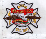 Texas - Bryan Fire Dept Patch v1