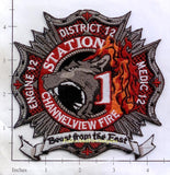 Texas - Channelview District 12 Fire Dept Patch