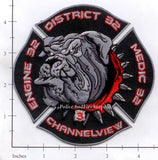 Texas - Channelview District 32 Fire Dept Patch