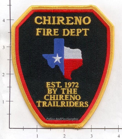 Texas - Chireno Fire Dept Patch v1