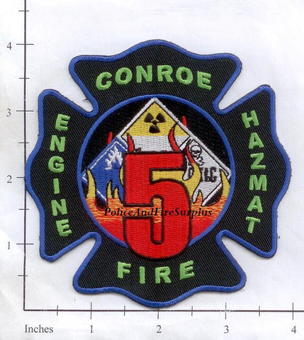 Texas - Conroe Station  5 Fire Dept Patch v1