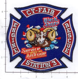 Texas - CyFair Station  3 Fire Dept Patch v1