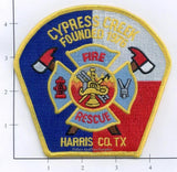Texas - Cypress Creek Fire Rescue Patch v1 - Harris County