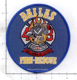 Texas - Dallas Station 43 Fire Dept Patch v1