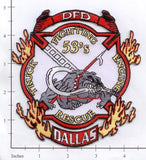 Texas - Dallas Station 53 Fire Dept Patch v1