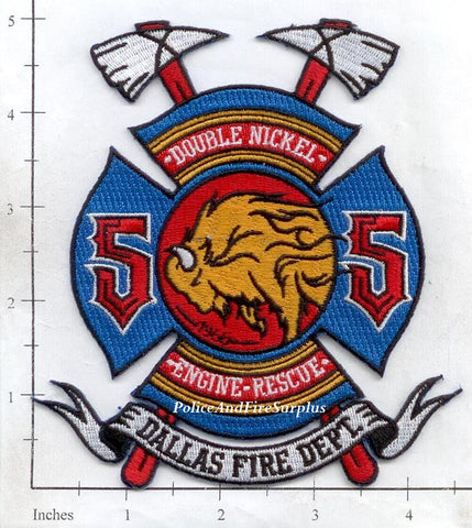 Texas - Dallas Station 55 Fire Dept Patch v1