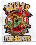 Texas - Dallas Station 51 Fire Dept Patch v1