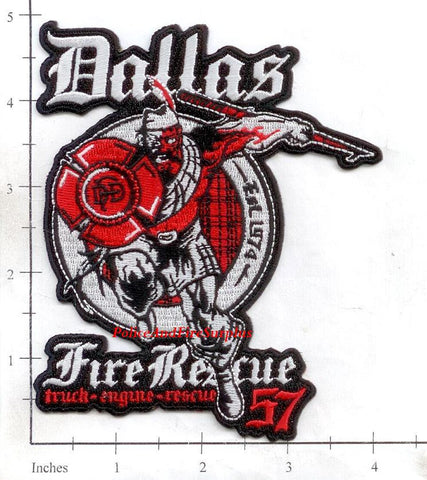 Texas - Dallas Station 57 Fire Dept Patch v1