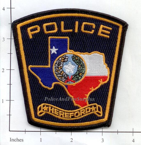 Texas - Hereford Police Dept Patch