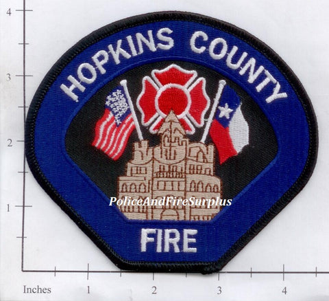 Texas - Hopkins County Fire Dept Patch