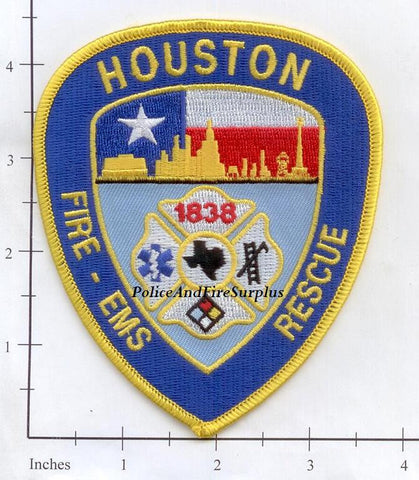 Texas - Houston Fire Dept Patch v3