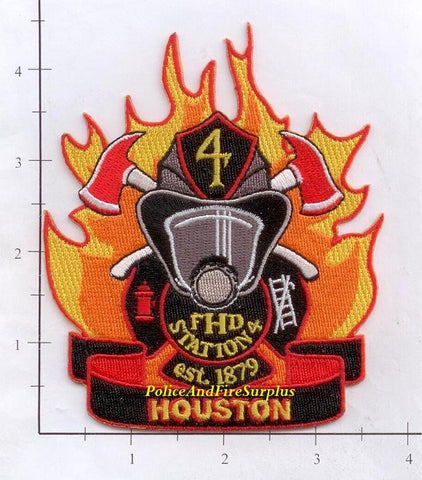 Texas - Houston Station   4 Fire Dept Patch v1