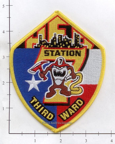 Texas - Houston Station   7 Fire Dept Patch v2