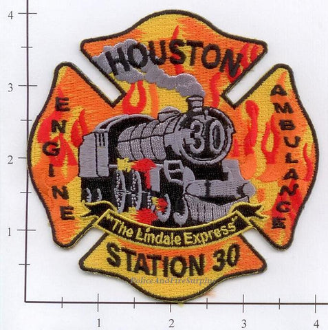 Texas - Houston Station  30 Fire Dept Patch v1