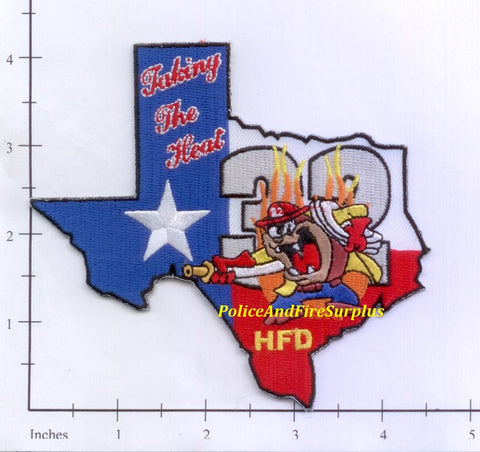 Texas - Houston Station  32 Fire Dept Patch