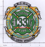 Texas - Houston Station  33 Fire Dept Patch v1