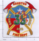 Texas - Houston Station  38 Fire Dept Patch v2