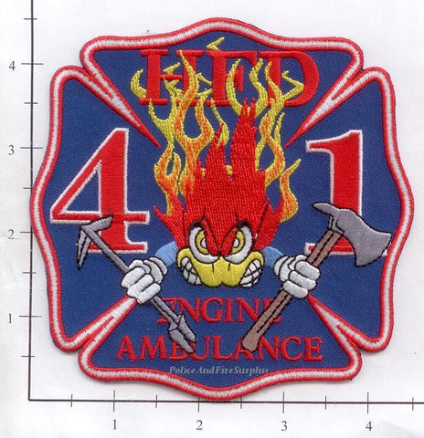 Texas - Houston Station  41 Fire Dept Patch v1