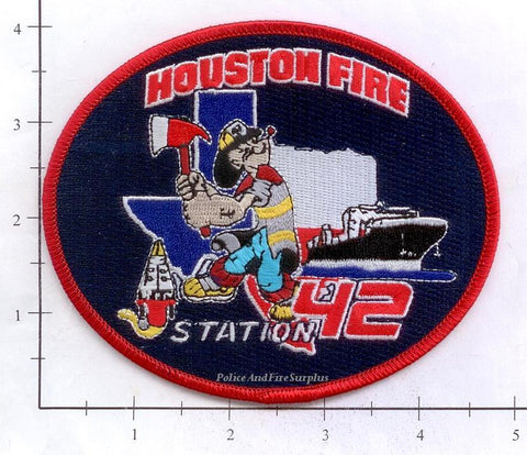 Texas - Houston Station  42 Fire Dept Patch v1