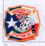 Texas - Houston Station  50 Fire Dept Patch v2