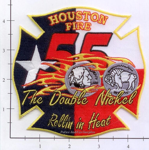 Texas - Houston Station  55 Fire Dept Patch v2