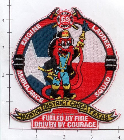 Texas - Houston Station  68 Fire Dept Patch v1